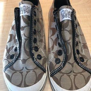 Coach women's size 6 1/2 b tennis shoes